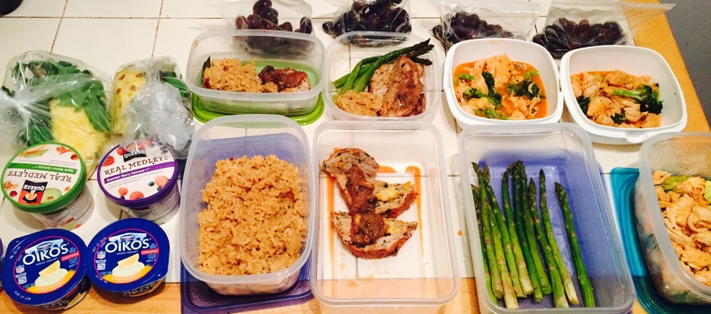 Meal Prep and Workouts for the Week