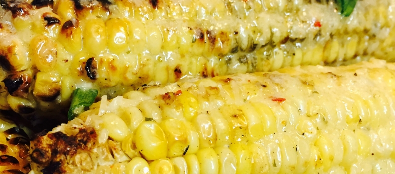 MEXICAN GRILLED CORN by Chef Tiffani Janelle