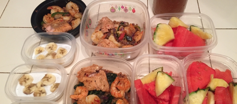 MEAL PREP AND WORKOUT